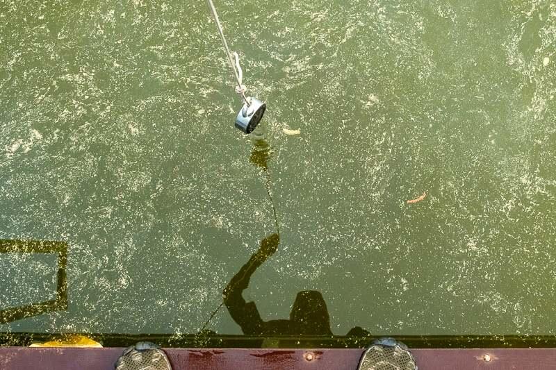Magnet fishing - magnetický lov 2